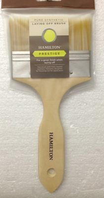 Hamilton Prestige Pure Synthetic Laying Off Paint Brush 100mm 3.7/8""