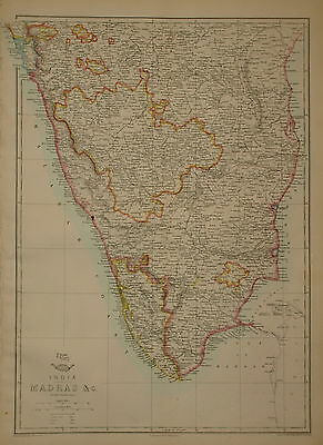 India. Madras.... By Edward Weller 1863.