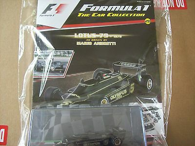 Formula 1 The Car Collection Part 28 Lotus 79 1978 Mario Andretti