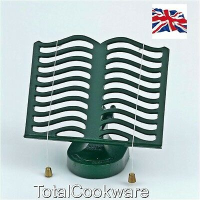 Victor Cast Iron Robert Welch Cook Book Stand Green RW315  By Robert Welch