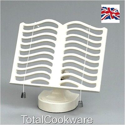 Victor Cast Iron Robert Welch Cook Book Stand Cream RW315  By Robert Welch
