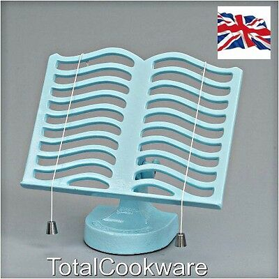 Victor Cast Iron Robert Welch Cook Book Stand Pale Blue RW315  By Robert Welch