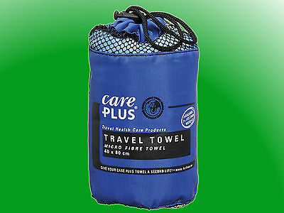 Care Plus® Travel Towel Microfibre small -  Reisehandtuch 40 x 80cm