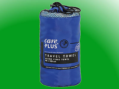 Care Plus® Travel Towel Microfibre groß -  Reisehandtuch 75 x 150cm