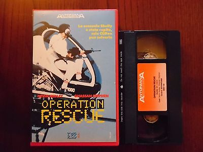 Operation rescue (Suzanna Smith, Ghassan Stephen) - VHS ed. Antoniana rarissima