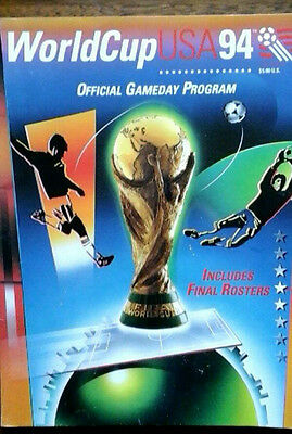 1994 World Cup Brochure Covers All Games
