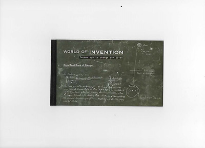 """2007 DX38 World of Invention BOOKLET """"MINT CONDITION"""" Free postage"""