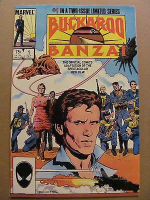 Buckaroo Banzai #1 #2 Marvel Comics Full 1984 Offical Adaptation 9.2 Near Mint-