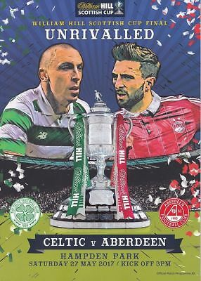 Celtic v Aberdeen - Scottish Cup Final - 27 May 2017 - Invincible's Season