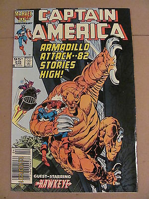 Captain America #316 Marvel 1968 Series Canadian Newsstand $0.95 Price Variant
