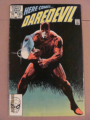 Daredevil #192 Marvel Comics NETFLIX