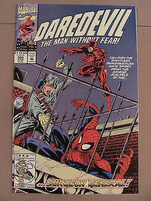 Daredevil #305 Marvel Comics NETFLIX 9.2 Near Mint-