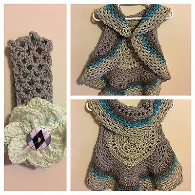 Crocheted Toddler Vest 2t/3t
