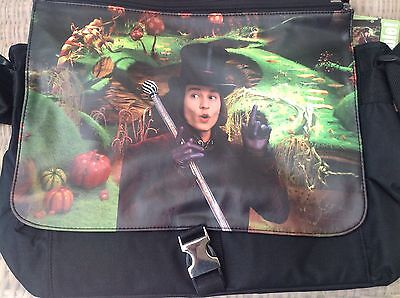 Tim Burton Charlie & The Chocolate Factory Reversible Messenger Bag - BN