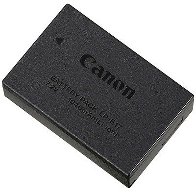 Genuine Canon LP-E17 Lithium-Ion Battery Pack - Canon USA Authorized Dealer!