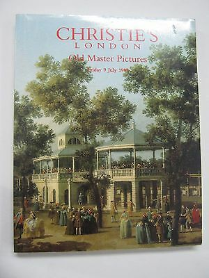 Christie's Old Master Pictures Auction Catalog July 1999 London