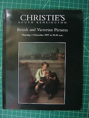 Christie's British and Victorian Paintings Nov 1997, South Kensington