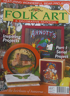 FOLK ART & DECORATIVE PAINTING Magazine Vol 11 No 3 ** Craft Cleanout **