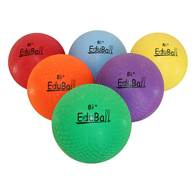 "Eduball 8.5"" Playground  Ball (suitable for Handball, Kickball, Dodgeball)"