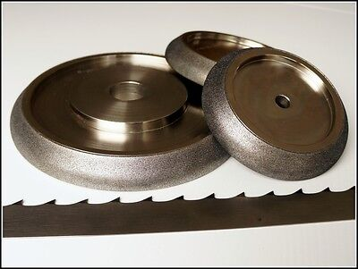 TOP CBN grinding wheels for band saws, borazon elboric saw sharpening wood mizer