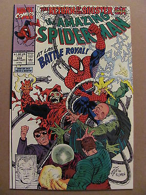 Amazing Spider-Man #338 Return of the Sinister Six Part 5 Marvel 9.2 Near Mint-