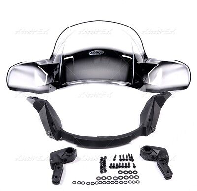 Can Am Outlander Windshield Quick Release Black With Mounting Kit 2006-18