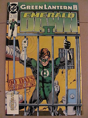 Green Lantern Emerald Dawn II #1 #2 #3 #4 #5 #6 Limited Series 1991 DC Comics