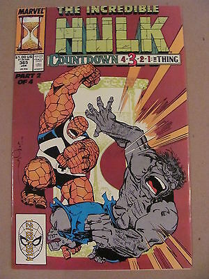 Incredible Hulk #365 Marvel Comics