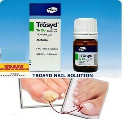 TROSYD %28 Anti Fungal Nail Solution Polish 5ml Trosyl buy Fungus Treatment