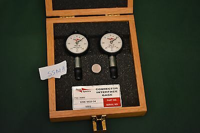 Omni Spectra Connector Interface Gage Set for SSMA 1098-5023-54 MA/Com Maury
