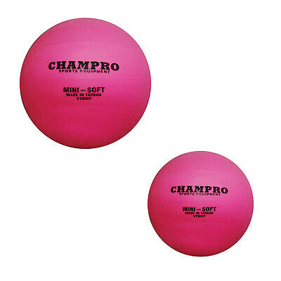 Super K Mini Pink Pvc Volleyball - Pink - 8 Or 6 Inch Sizes Available