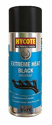Very High Temperature Spray Paint Black 400ml Heat Resistant Exhausts & Manifold