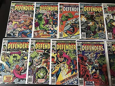 Defenders Comic Lot Of 14. Issues 20-152. NM