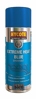 Very High Temperature Spray Paint Blue 400ml Heat Resistant Exhausts & Manifolds