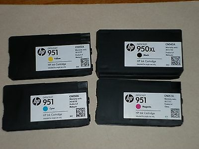 5 PACK Refilled HP 950 XL 951  Genuine Ink Cartridges