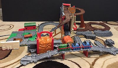 Large Lot Of Thomas The Train Take N Play Playsets Misty Mountain Tidmouth