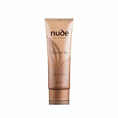 NUDE BY NATURE  Gradual Tan Light to Medium 200ml 2 for 1 FREE POST