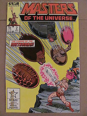 Masters of the Universe #2 Star Marvel Comics 1986 Series 9.2 Near Mint-