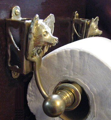 PAPILLON Bronze Toilet Paper Holder OR Paper Towel Holder!