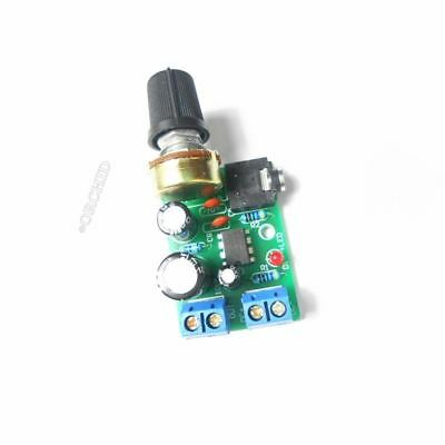 1Pcs LM386 Audio Power Amplifier Board Dc 3~12V 5V Amp Module Adjustable Volume