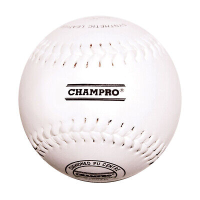 """Champro 12"""" Synthetic Leather Baseball - Synthetic Leather Cover (Bacblsl12Rp)"""