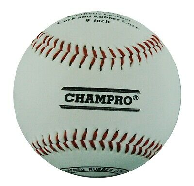 Champro 9″ Synthetic Leather Baseball -  Synthetic Leather Cover (Bacblr9Trp)