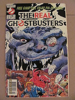 The Real Ghostbusters #16 NOW Comics 1988 Series