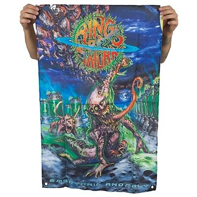 Rings Of Saturn - Embryonic Anomaly - Flag - 4.17