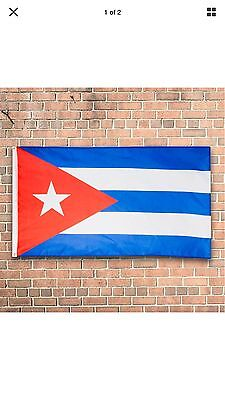 3'x5' Cuba Flag Cuban Flag Banner Bandera Cubana Indoor Outdoor New In Package