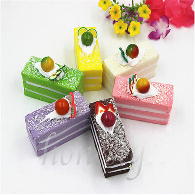 Artificial Simulation Kitchen Decor Creative rectangular toys cake Dessert