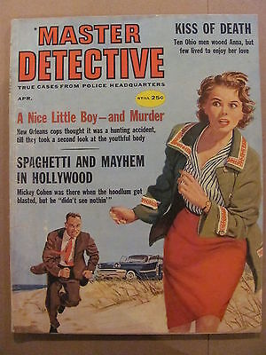 Master Detective Magazine True Cases From Police Headquarters