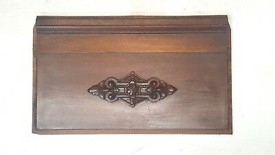 Vintage Header Pediment Mantle Shelf Entryway Accent Interior Decor Salvage