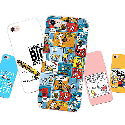Case For iPhone 5S 5C 6 6S 7 Plus Soft TPU Silicone Phone Back Cover Funny Dog