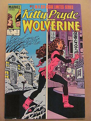 Kitty Pryde and Wolverine #1 Marvel Comics 1984 Series
